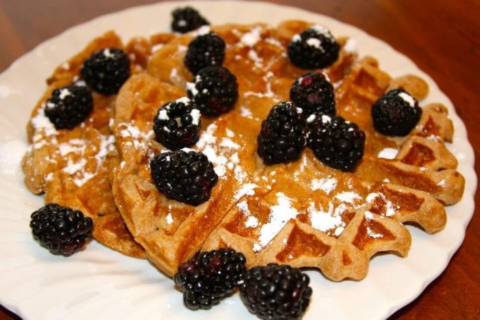 Spiced Sour Cream Waffles... Enjoy!!