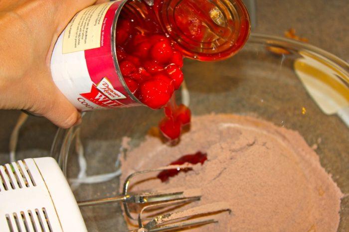 Choc Covered Cherry Cake 04