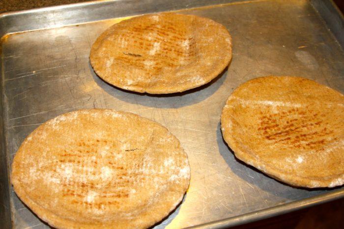 Bbq Pita Pizza 06