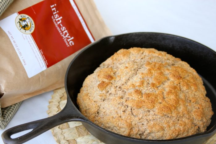 Irish Soda Bread by whatscookingwithruthie.com