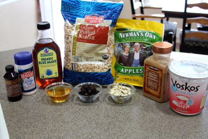 Ingredients Apple Cranberry Granola