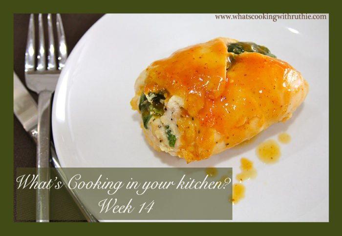 Spinach and Feta Chicken by whatscookingwithruthie.com