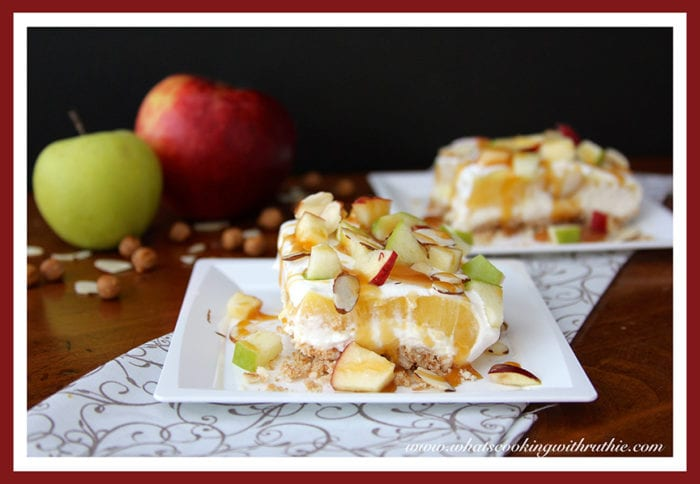 Caramel Apple Dessert by whatscookingwithruthie.com