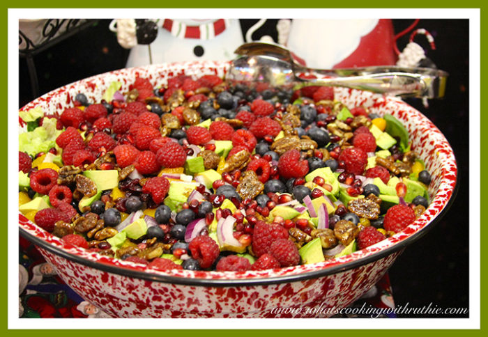 Clare's Poppy Seed Salad by whatscookingwithruthie.com