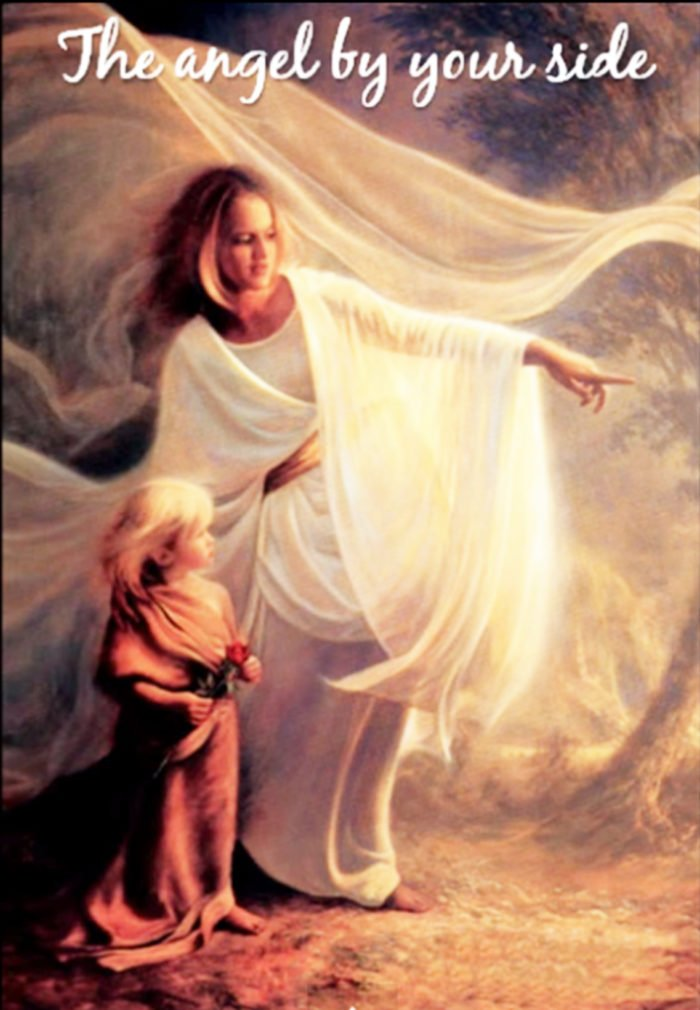 Angel by My Side by on www.cookingwithruthie.com #miracles #angels #life