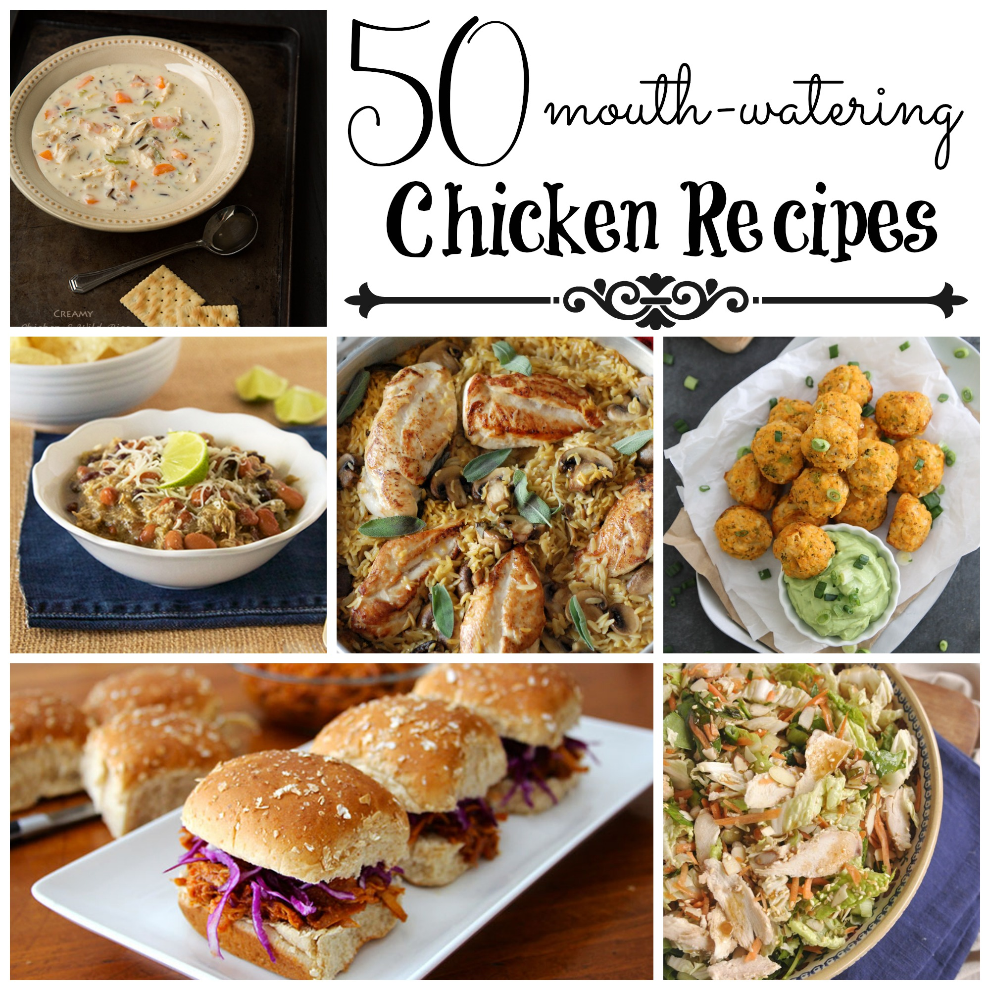 50 mouth-watering Chicken Recipes - Cooking With Ruthie