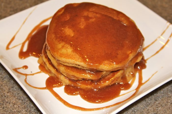 Quick Jack Com >> Pumpkin Pancakes with Carmel Syrup - Cooking With Ruthie