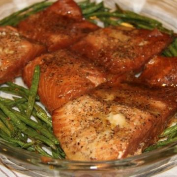 Cracked Pepper Salmon Cooked 19