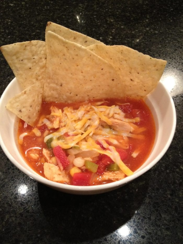 Emily S Chicken Tortilla Soup Cooking With Ruthie