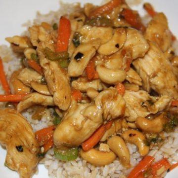Cashew Chicken 30