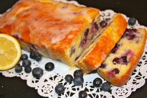 Lemon-Blueberry Yogurt Loaf