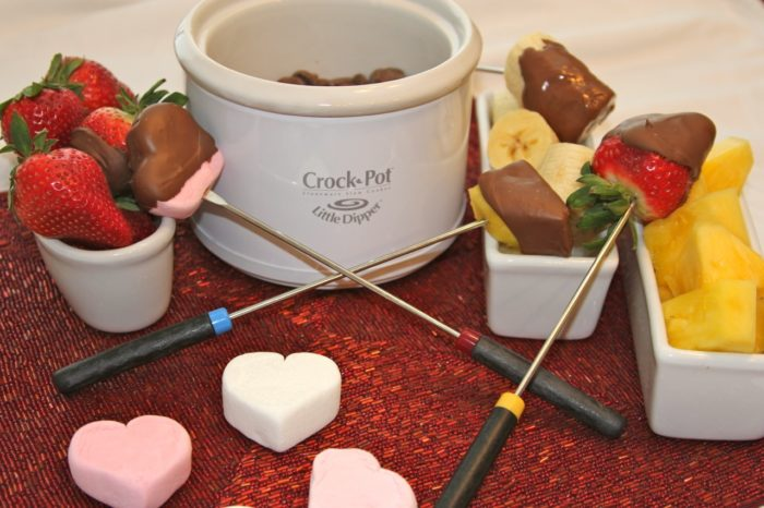 Chocolate Fondue for Two - Cooking With Ruthie