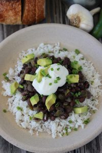Southern Black Beans And Rice 1