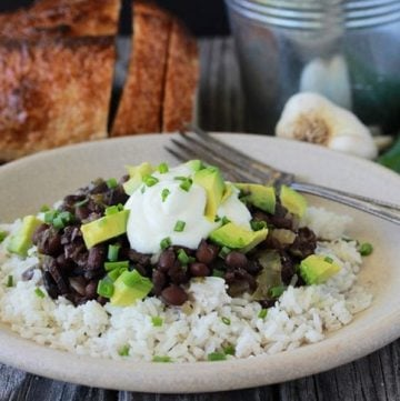 Southern Black Beans And Rice 3