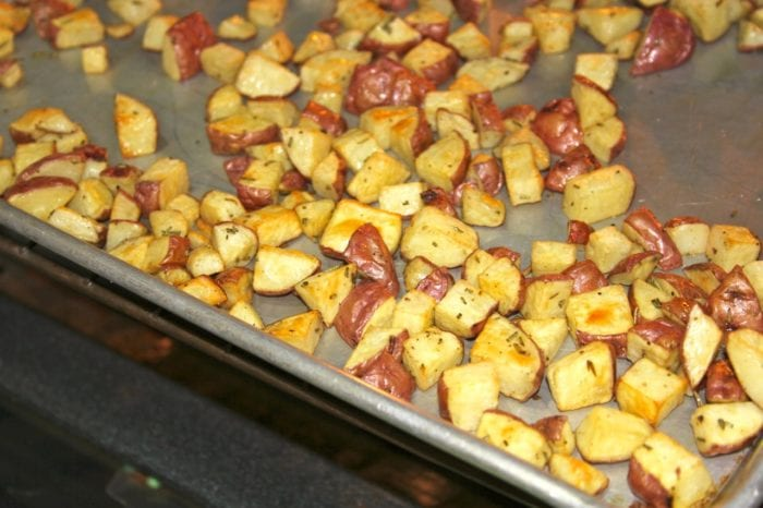 Brisket And Rosemary New Potatoes 21