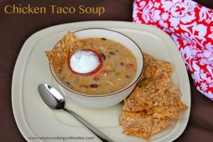 Chicken Taco Soup Titled
