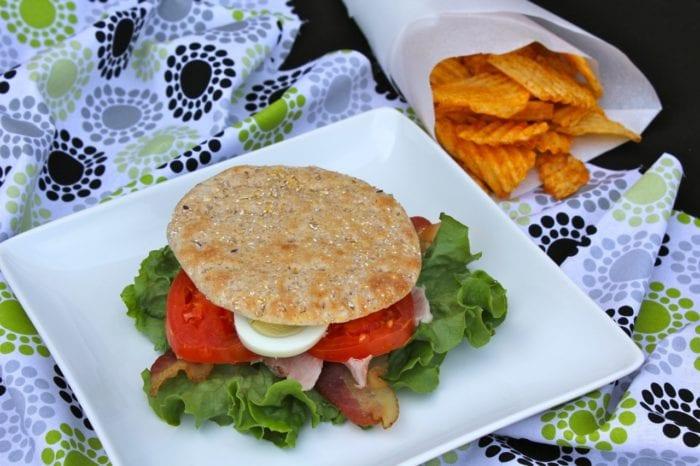 Cobb Salad Sandwich 11