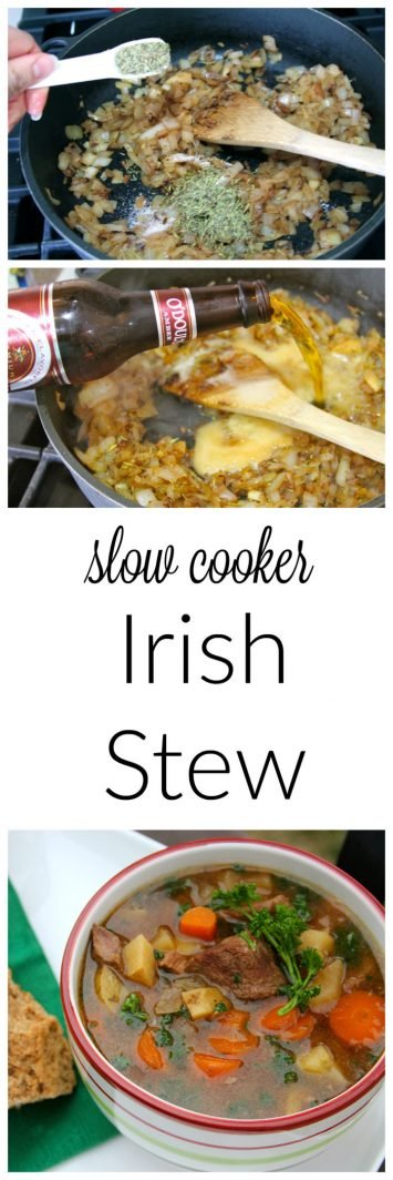 Irish Stew is just a fun, festive, yummy meal for St. Patrick's day!