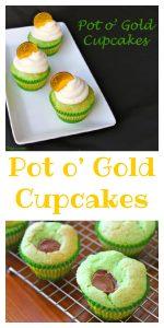 Pot O Gold Cupcakes Pin