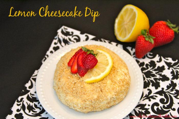 Lemon Cheesecake Dip