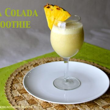 Pina Colada Smoothie Titled
