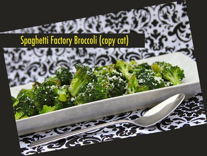 Spaghetti Factory Broccoli (copy cat)