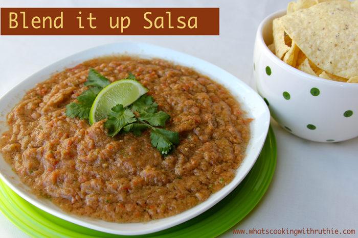 Blend it up Salsa