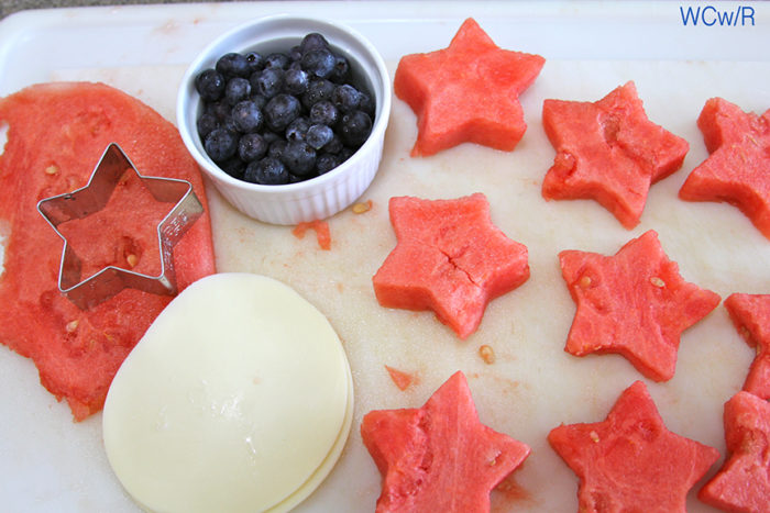 4th of July Watermelon Appetizer
