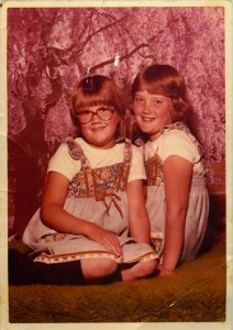 Ruthie and Camey (approx 2nd grade)