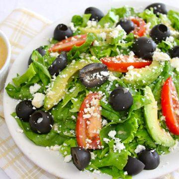 Lemon Honey Salad Dressing