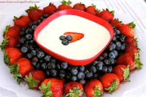 Red, White, and Blue-berries