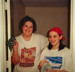 Ruthie and Kendra 1997