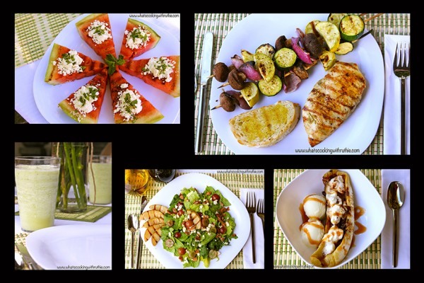 Summer Soiree Menu