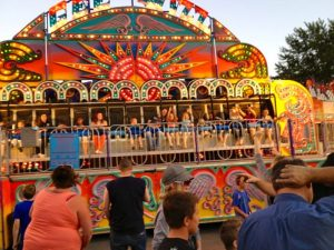 Kids on Fair ride!