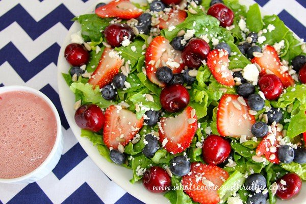 Cherry-Berry Salad