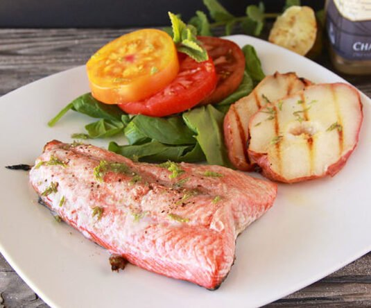 Today's Big Green Egg Salmon Recipe it's melt in your mouth just like a-pat-of-butter, GOOD! by cookingwithruthie.com