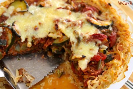 Jarslberg Pasta Pie by whatscookingwithruthie.com