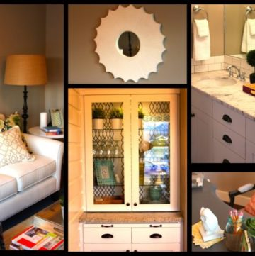 DIY blogger house by whatscookingwithruthie.com