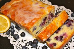 Lemon-Blueberry Yogurt Loaf by whatcookingwithruthie.com