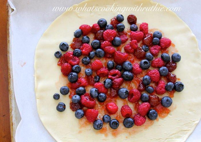 Our Mixed Berry Crostata Recipe will be the star of your next gathering! by cookingwithruthie.com