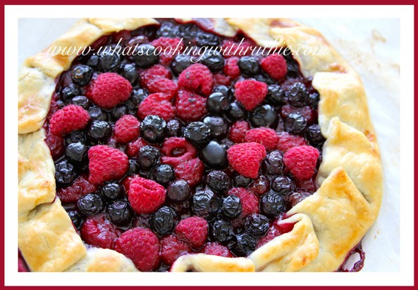 Mixed-Berry Crostata by www.whatscookingwithruthie.com