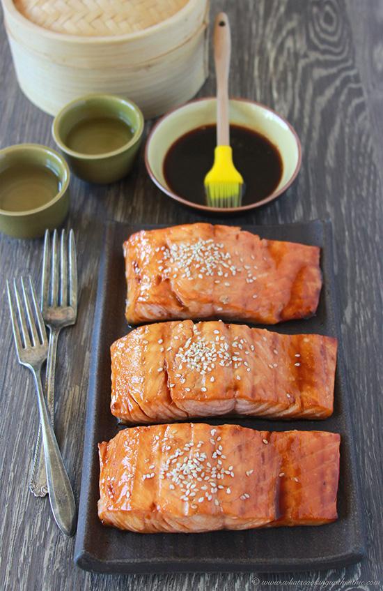 Japanese Salmon Teriyaki 6