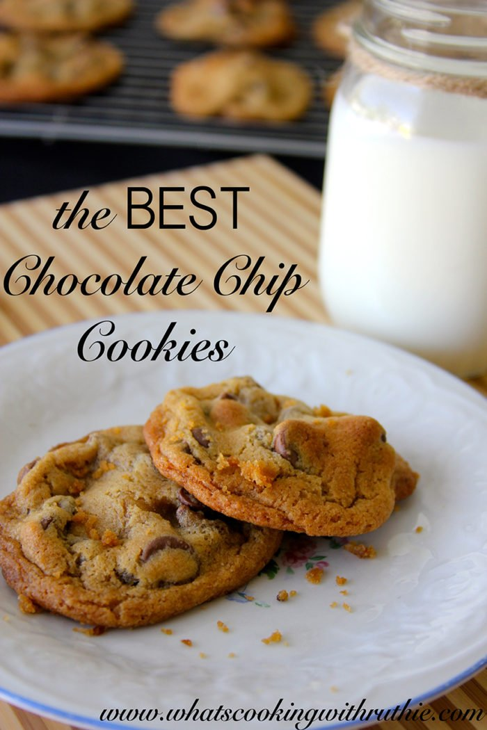 the BEST Chocolate Chip Cookies - Cooking With Ruthie