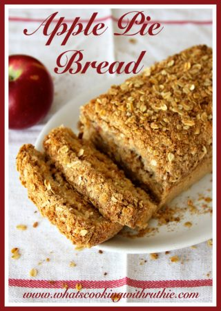 Apple Pie Bread by whatscookingwithruthie.com