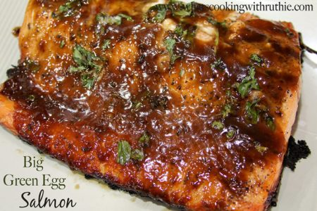 Big Green Egg Salmon by whatscookingwithruthie.com
