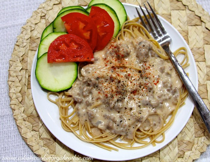 Easy Peasy Stroganoff by whatscookingwithruthie.com