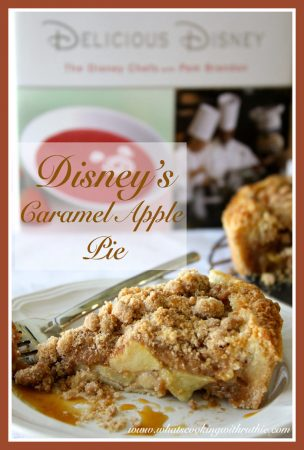 Disney's Caramel-Apple Pie by whatscookingwithruthie.com