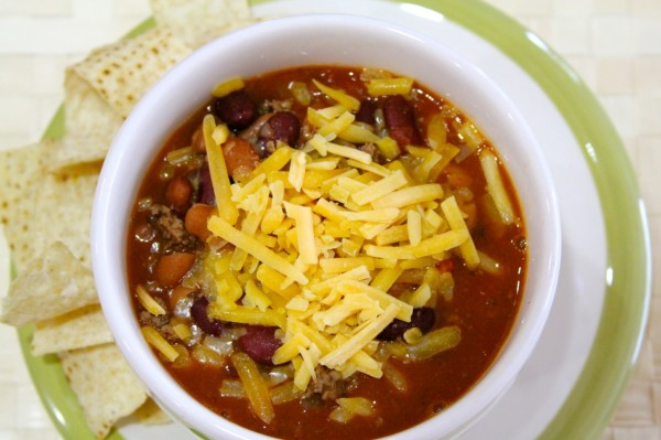 Easy Peazy Chili by whatscookingwithruthie