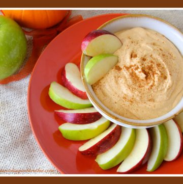 Pumpkin Cream Cheese Dip by whatscookingwithruthie.com