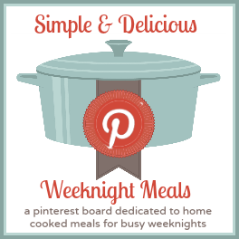 Weeknight Meals Pinterest Board